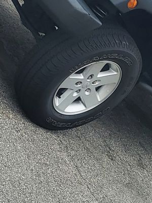 5 Jeep wrangler wheels for Sale in Providence, RI