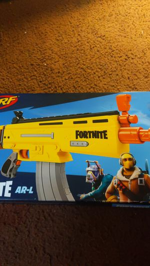 Fortnite ar nerf gun for Sale in Los Angeles, CA