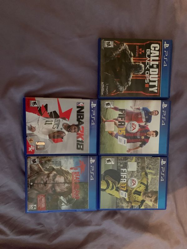 PS4 LOT FOR SALE!