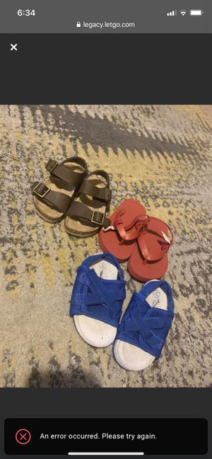 Toddler 7c Sandals for Sale in Baton Rouge, LA