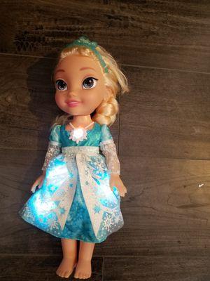 Elsa doll frozen for Sale in Rancho Cucamonga, CA