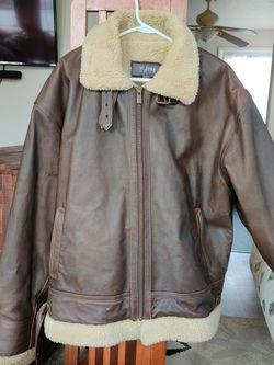 Classic Sheepskin bomber's Jacket for Sale in Washington Township,  NJ