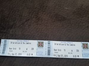 Brian Willson and zombies tickets for Sale in New Britain, CT