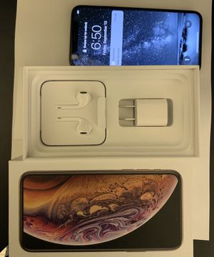 iPhone XS Gold 512 GB Unlocked USED *Cash only-No trades* for Sale in Peoria, AZ