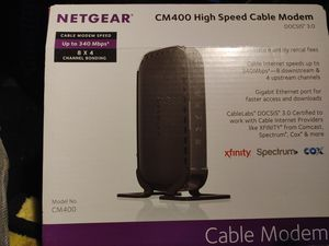Netgear Cable Modem for Sale in Lynnwood, WA