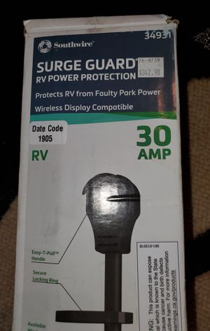Surgeguard 30A Portable Wireless Surge Protector for Sale in Arlington, TX