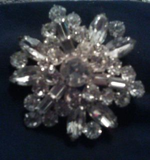 Weiss Flower Brooch for Sale in Coffeyville, KS