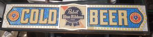 Vintage Pabst Blue Ribbon Beer Sign - Light for Sale in Murfreesboro, TN