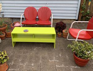 Crosley 2 piece retro patio furniture for Sale in Portland, OR