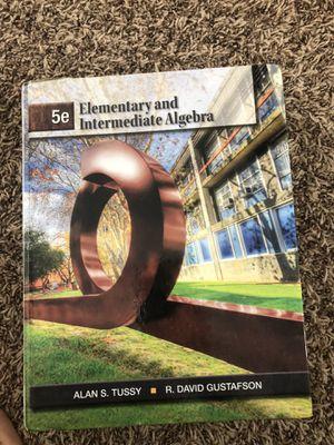 Elementary & Intermediate Algebra for Sale in Rancho Cucamonga, CA