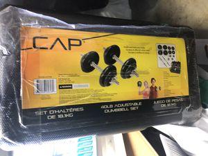 40 lb adjustable dumbbell set for Sale in Norwood, PA
