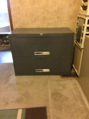 Two drawer file cabinet for Sale in Sugar Hill, GA