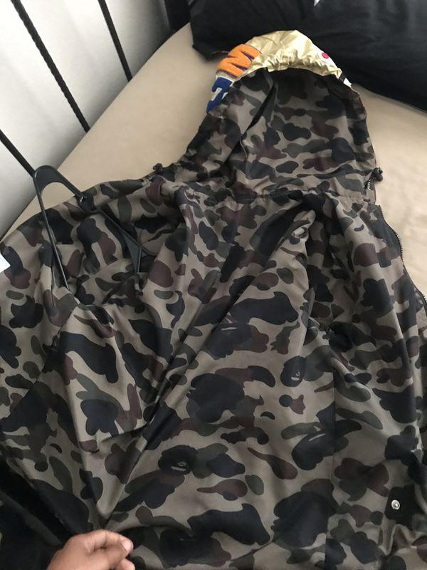 Bape reversible hoodie