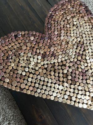 Wine Cork Heart for Sale in Delaware, OH