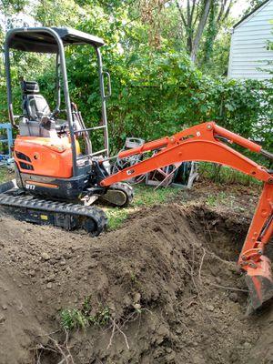 Mini excavator for Sale in Detroit, MI