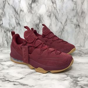 NEW Nike Lebron 13 XIII Low Premium Red Team Suede Men's size 10 and 11 for Sale in Vienna, VA