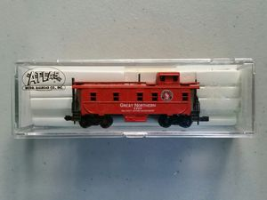 Used, N scale train caboose Atlas 3589 Great Northern for Sale for sale  Stewartsville, NJ