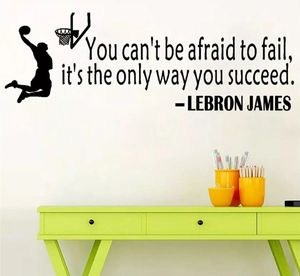 Lebron James Quote - Wall Decor/Sticker for Sale in Columbia, MD