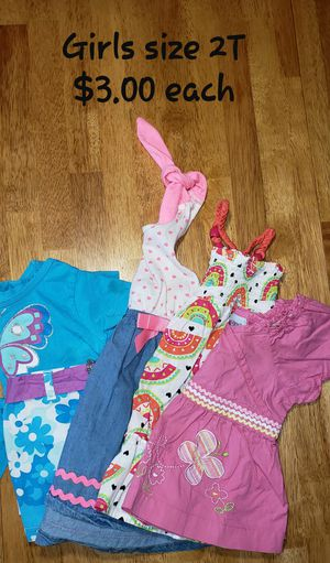 Dresses, short sets, shirt 2T for Sale in PA, US