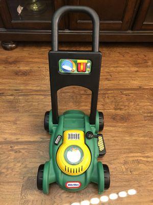 Kid toy law mower little tike for Sale in Allen, TX