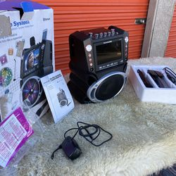 Karaoke USA Complete Bluetooth Karaoke System with LED Sync Lights for Sale in Las Vegas,  NV