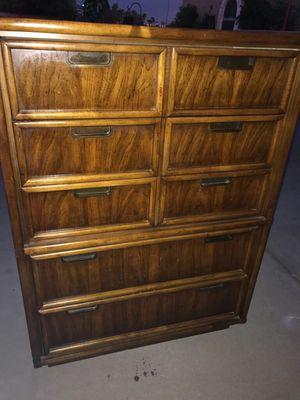 Midcentury wood dresser for Sale in Phoenix, AZ