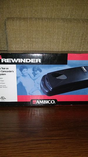 Ambico VHS rewinder for Sale in Clearwater, FL