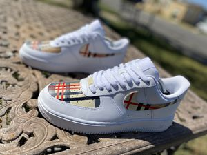 Custom Burberry Air Force 1s for Sale in Pflugerville, TX