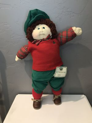 Signed 1985 soft sculpture Irish cabbage patch for Sale in Henderson, NV