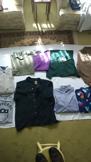 Men's Summer Shirts- L- Used, $3 each! for Sale in Alexandria, VA