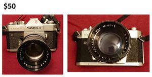Vintage 35mm film camera and lens for Sale in Cedarhurst, PA