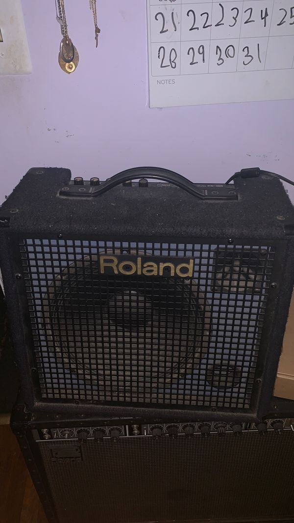 Roland kc-100 amplifier