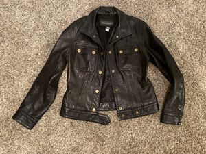 Brand New Banana Republic Leather Jacket for Sale in Rowlett, TX