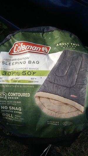 Coleman Sleeping Bag for Sale in Tampa, FL