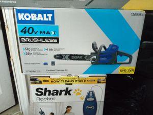 Kobalt 40v max brushless chainsaw for Sale in Tarpon Springs, FL