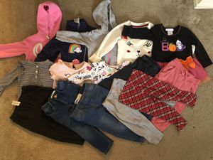 15pc 2T girls fall clothes/ outfits for Sale in Ontario, CA