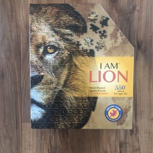 Lion Jigsaw Puzzle Like New 550 Pieces for Sale in San Diego, CA
