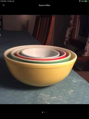 Vintage Pyrex mixing bowls for Sale in Columbia, PA
