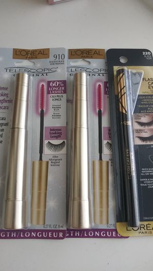Mascara and cat eyeliner for Sale in Anaheim, CA