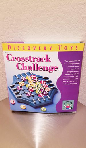 Crosstrack Challenge Game by Discovery Toys for Sale in Round Rock, TX