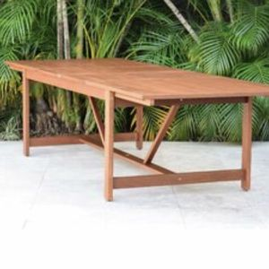 Outdoor Patio Extendable Teak Table NEW for Sale in Miami, FL