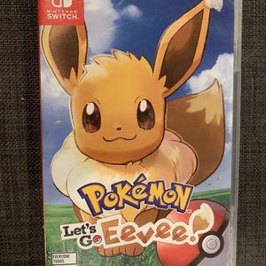 Pokémon Let's Go Evee for Sale in Seattle, WA