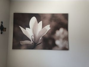 Flower canvas for Sale in Sandy, OR