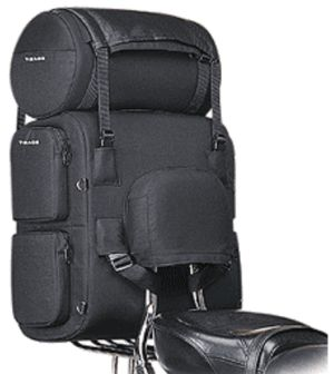 T-bags Route 66 motorcycle luggage set for sissy bar for Sale for sale  Midlothian, TX