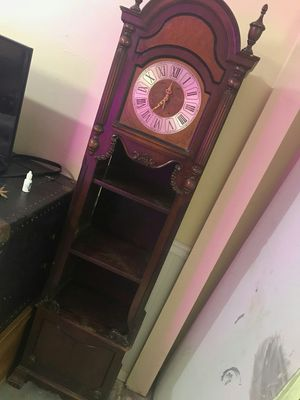 Antique clock with shelves for Sale in Valley Park, MO