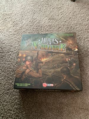 Heroes of Normandie board game complete for Sale in Aurora, CO