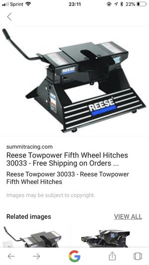 Reese fifth wheel hitch for Sale in Lubbock, TX