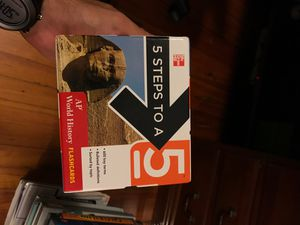 5 Steps to a 5 - AP World History Flashcards for Sale in Coral Gables, FL