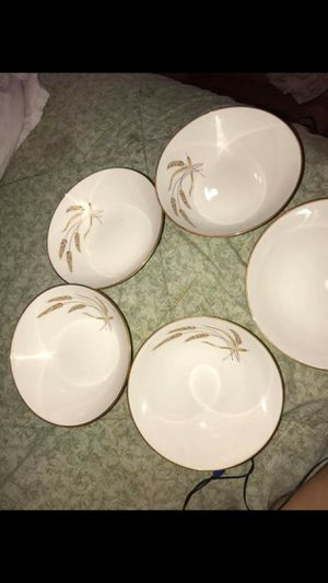 6 Piece Antique China Bowl Set for Sale in Santa Ana, CA
