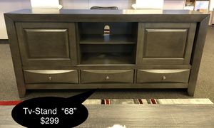 "Brand new Solid tv stand ""68"" for Sale in Fresno, CA"